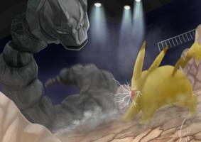 Ash VS Brock by ViniciusFialho