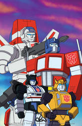 Autobots by thelearningcurv