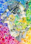 Kagamine APPEND by Kyururu