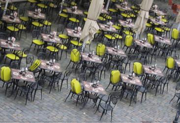 Street Cafe- Dresden by InStantUsage