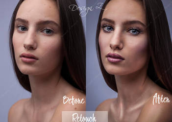 Retouch Before And After by sofijas
