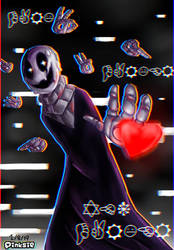 This Gaster that I forgot to upload again- by PinksieHeartwishes