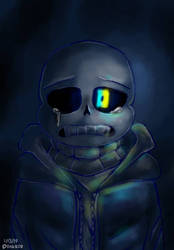 A coolio Sans and I don't have a nice title for it by PinksieHeartwishes