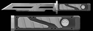 Hunter Knife Phase 07 by BRokeNARRoW13