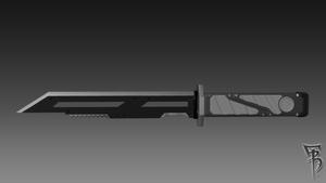 Hunter-Knife-02 by BRokeNARRoW13