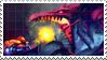 Ridley VS Samus Stamp by Zaira-Karanfil