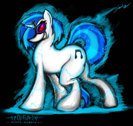 DJ-Pon3 Power! by grayscalerain