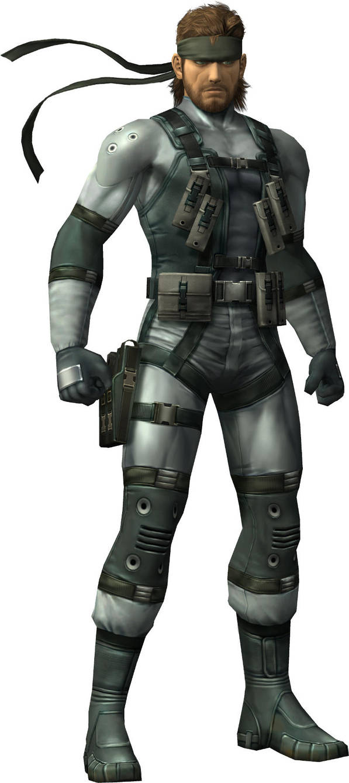 Solid Snake by GokuvsSuperman117