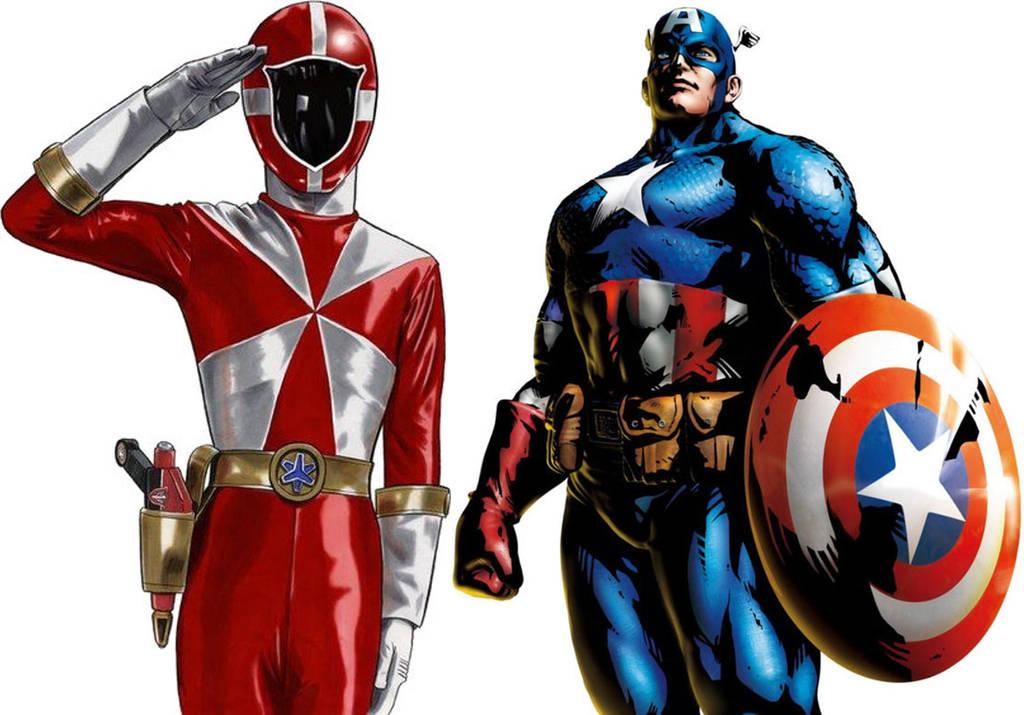 Carter Grayson/Captain America by GokuvsSuperman117