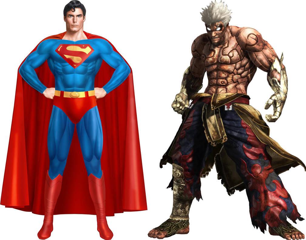 Superman/Asura by GokuvsSuperman117