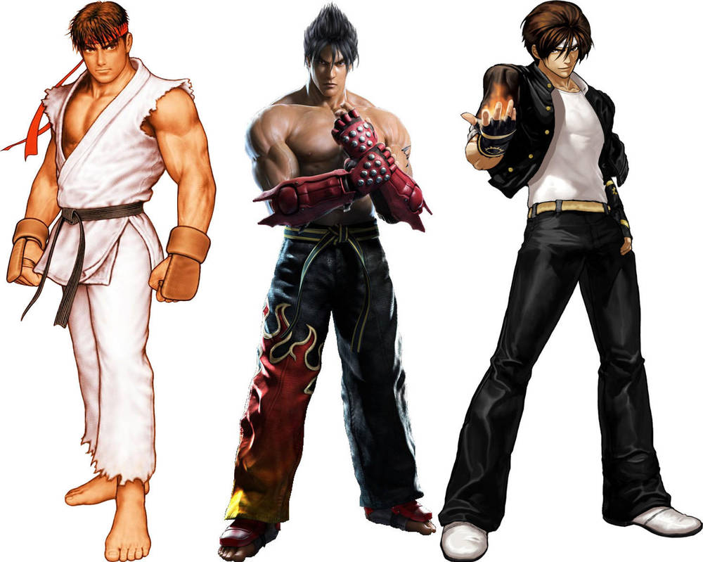 Ryu Hoshi/Jin Kazama/Kyo Kusanagi by GokuvsSuperman117