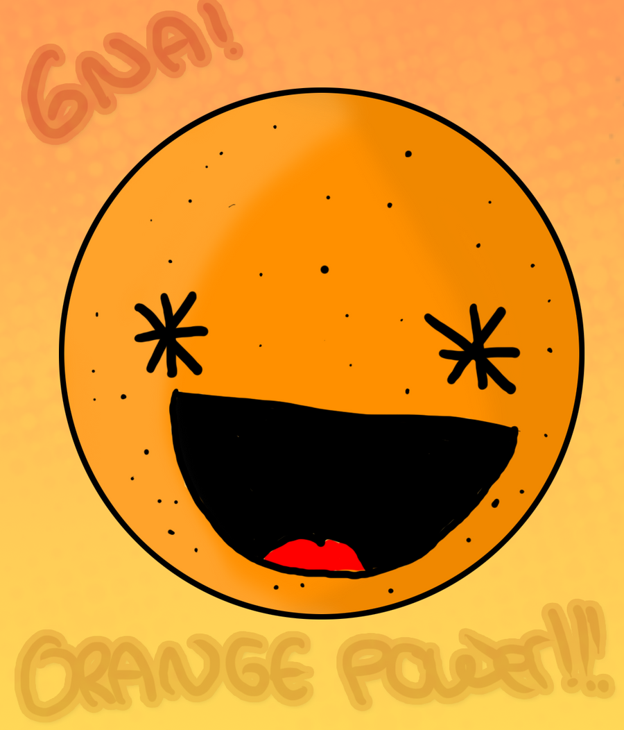 Orange poweeer by Fasolla