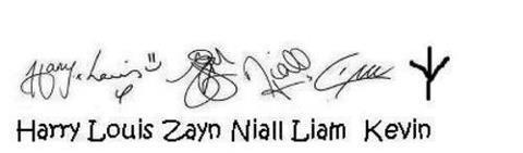 Their signatures by houseofanubisrocks15