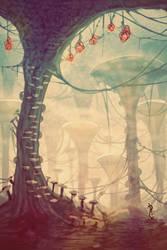 Mushroom Trees by BlindHead