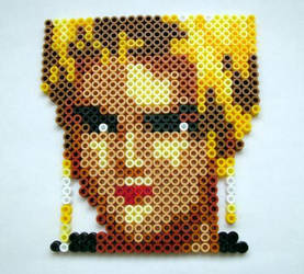 PixelBead: KOF Mature Portrait by DrFrancisGross