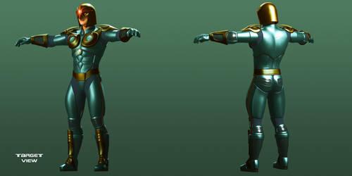 Marvel Nova part 3 by TargetView