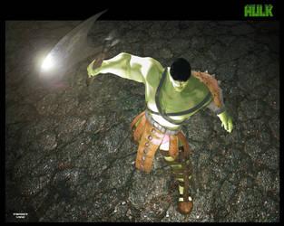 Planet Hulk the world breaker by TargetView