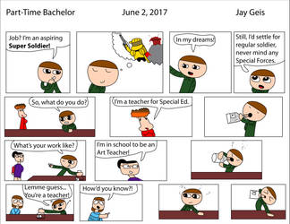 Part-Time Bachelor 1: Jobs by The-Golden-Knight
