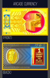 Video Game and Pinball Arcade Currency by CRDrummond