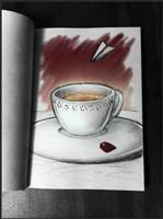 Darn sketch of some darn tea... by Fyoriosity