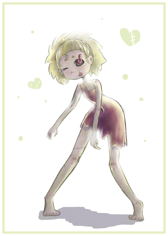Rotting girl by Fyoriosity