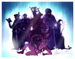 Royal sins - coloring contest by Fyoriosity