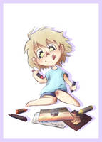 Naho the cutest [prize art] by Fyoriosity