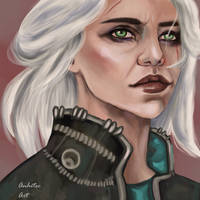 Ciri The Witcher by Anhitec