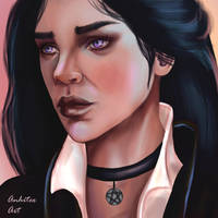 Yennefer The Whicher Commission by Anhitec