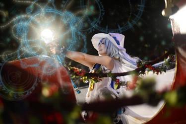 Snow Miku 2014 - Winter Witch by AkaiRizumu