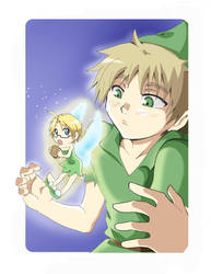 APH_ ArthurPan and TinkerFred by Letucse