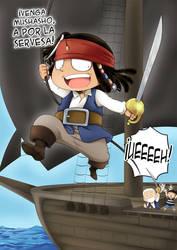 Piratas del Cariberaneo Fanart by Letucse