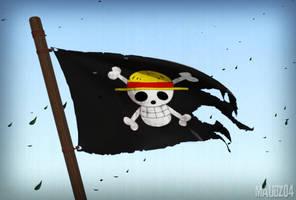 Mugiwara flag by maudz04
