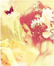 Feeling of spring by Saphitri