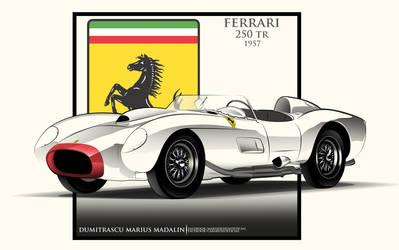 Ferrari 250 TR 1957 by MarisDesign
