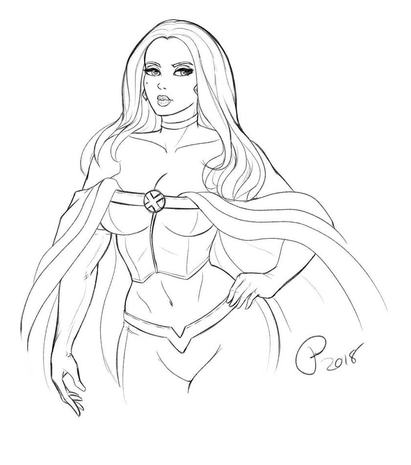 Emma Frost by Dualmask