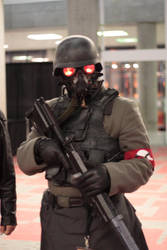 Helghast Cosplay Fanime 2011 by GarmaZabi