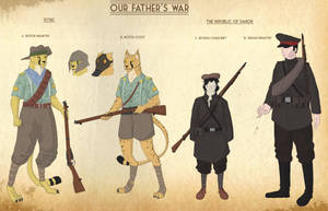 Our Fathers War Faction sheet 5 by goeliath