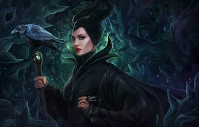 Maleficent by dandelion-s