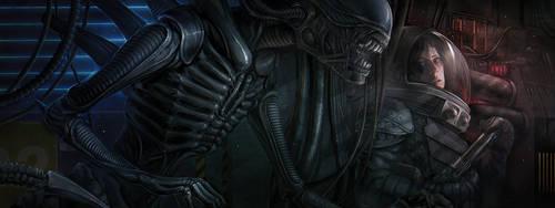 Alien by dandelion-s
