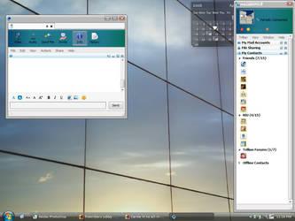 April Desktop by familyguy87