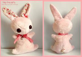 Primrose - tea party plush bunny by tiny-tea-party