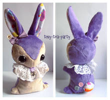Iris - Teacup Bunny Commission by tiny-tea-party