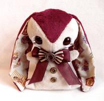 Reuben - Teacup Bunny Plush - sold by tiny-tea-party