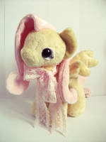 Fluttershy - Tea Party Pony - Handmade - For Sale by tiny-tea-party