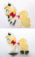 Vive Custom Pony Plush - Commission by tiny-tea-party