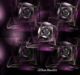 Glass Roses by youlittlemonkey