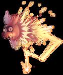 Zigzagoon's Thunderbolt by Sony-Shock
