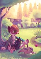 COMM-Bunny Yard by Sony-Shock