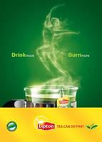 LIPTON GREEN TEA DIET AD by HABASHY